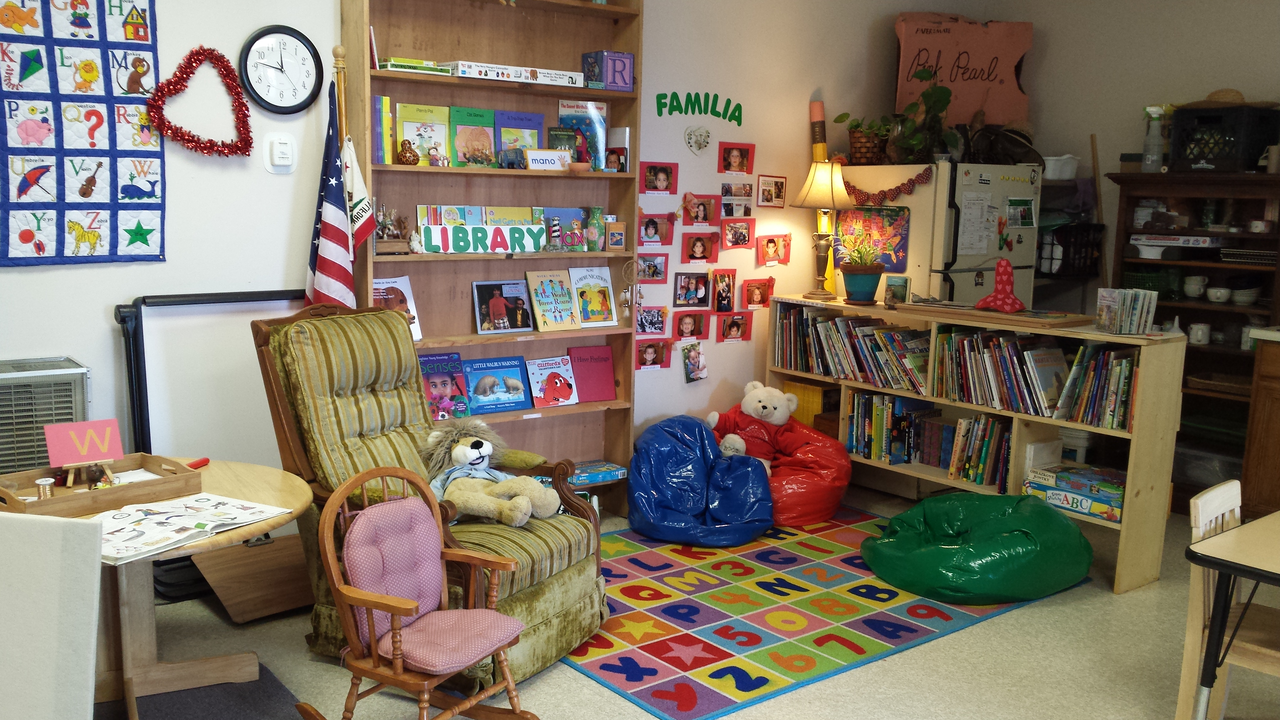 We Highlight Books That Fit Our Theme And The Rest Are Shelved You Can Also See Sound Area On Round Table