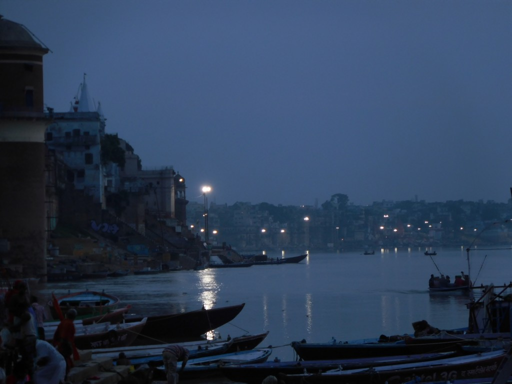 Ganga- when we arrived at near 5 am.